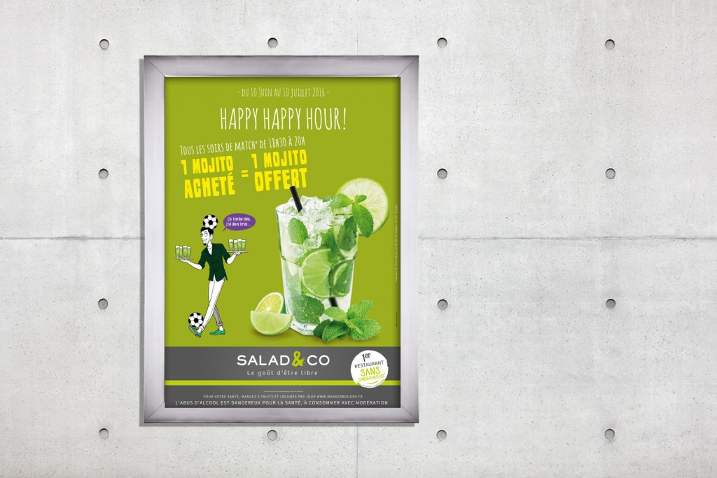 affiche salad & co juin euro